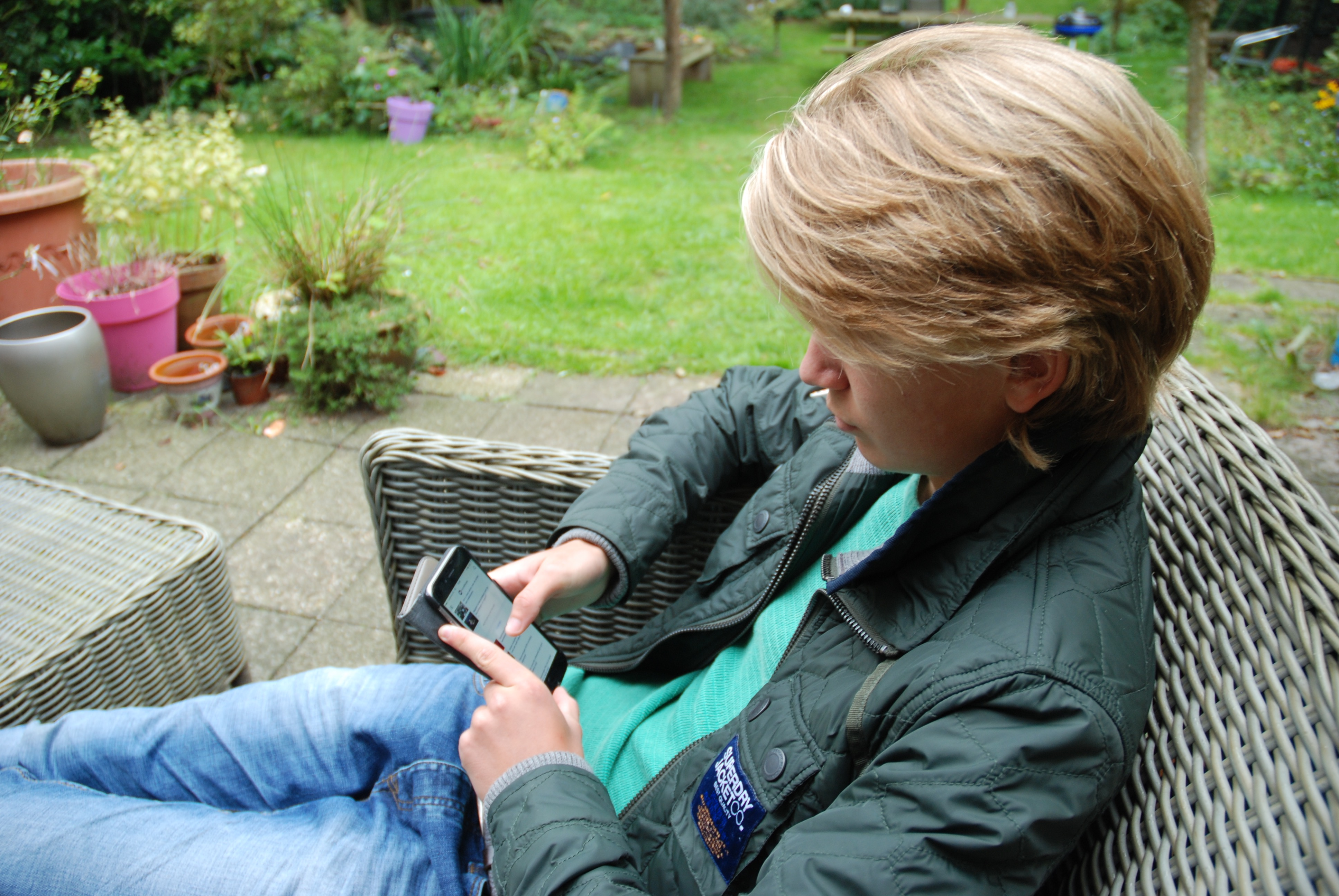 socialmedia bij pubers